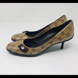"""Gucci Crystal GG 2"""" Heels"""